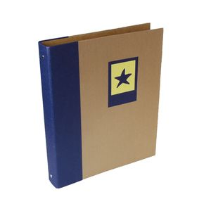 Green Earth Blue Starfish A4 Ring Binder