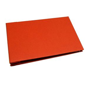 Uni Special Mini Traditional Red Photo Album, 36 Black Sides