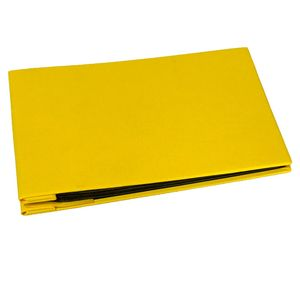 Uni Special Mini Traditional Yellow Book Style Album  - 36 Black Sides