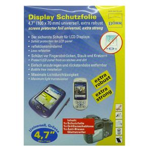 Dorr Clear Universal Screen Protection Foil 4.7""