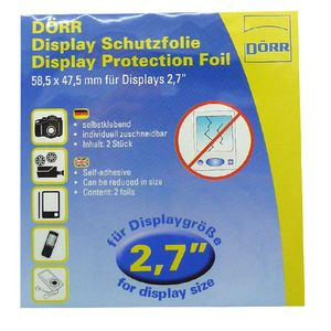 Dorr Universal Clear Screen Protection Foil 2.7""