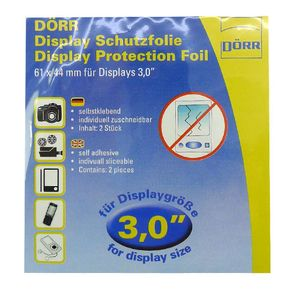 Dorr Universal Clear Screen Protection Foil 3.0""