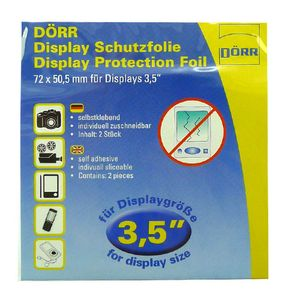 Dorr Universal Clear Screen Protection Foil 3.5""
