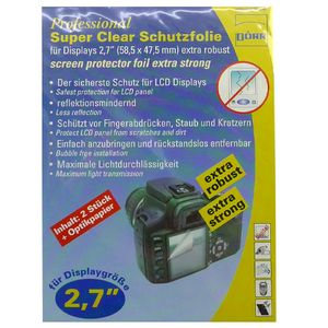 Dorr Professional Super Clear Display Protector Foil 2.7""