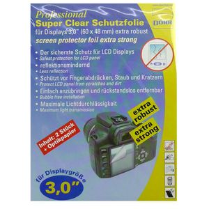 Dorr Professional Super Clear Display Protector Foil 3.0""
