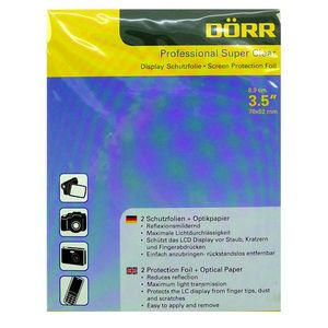 Dorr Professional Super Clear Display Protector Foil 3.5""