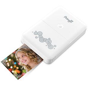 HITI Pringo White Portable Wi-Fi Printer inc Battery