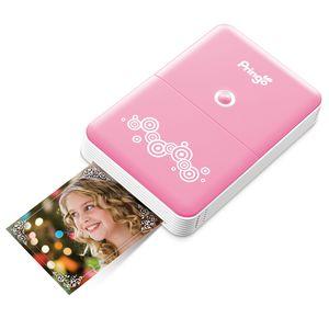HITI Pringo Pink Portable Wi-Fi Printer inc Battery