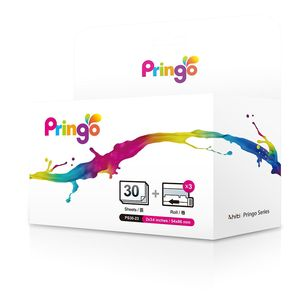 HITI Paper Kit for Pringo Portable Printer - 30 Prints with SIlver Frame