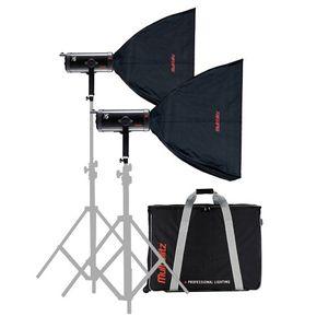 Multiblitz X15 3000Ws Studio Flash Double Kit