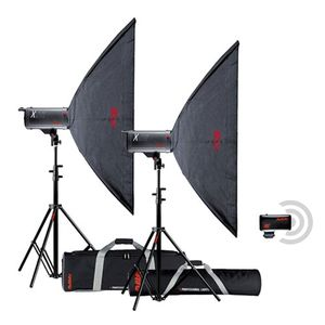Multiblitz X Lite 1000Ws Studio Flash Double Kit