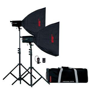 Multiblitz Compact Plus MKII Studio Flash Double Kit