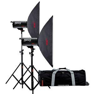 Multiblitz Profilite Plus 2 400Ws Studio Flash Double Kit