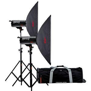 Multiblitz Profilite Plus 4 800Ws Studio Flash Kit