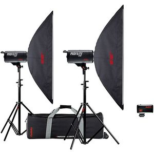 Multiblitz Profilite 500Ws Studio Flash Double Kit