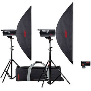 Multiblitz Profilite 1000Ws Studio Flash Double Kit