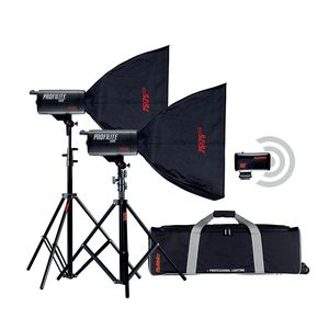 Multiblitz Profilite 1000 Studio Flash Kit