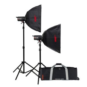 Multiblitz V6 LED Studio Lighting Double Kit