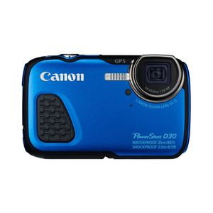 Canon PowerShot D30 Blue Digital Camera