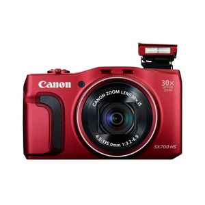 Canon PowerShot SX700 HS Red Digital Camera