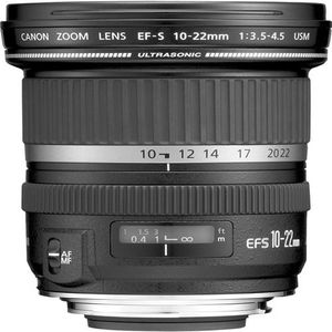 Canon EF-S 10-22mm f3.5-4.5 USM Lens