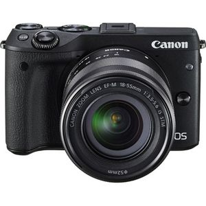 Canon EOS M3 Digital Camera with 18-55mm Lens