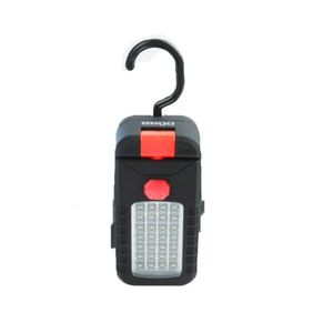 Dorr P-284 24LED Plus 4 Hook and Magnet Torch - Red