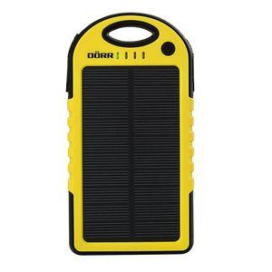 Dorr SC-5000 Solar Powerbank - Yellow