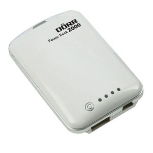 Dorr Power Bank 2000 mAh White