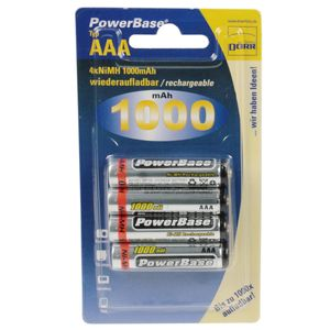 Dorr Power Base NiMH 1000mAh Batteries