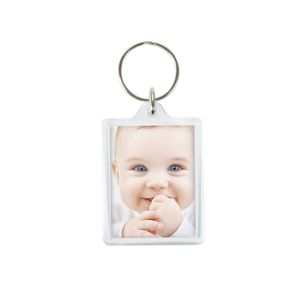 Acrylic Photo Keyring Keychain Add Your Own Photo