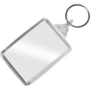 Acrylic Photo Keyring Keychain Add Your Own Photo!
