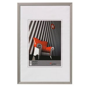 Walther Chair Brushed Silver Aluminium A4 Photo Frame