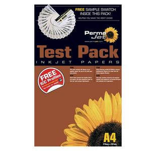 Permajet Canvas Test Pack Printing Canvas Paper A3+ - 12 Sheets