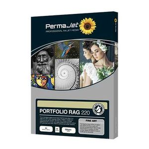 Permajet Portfolio Rag 220 Printing Paper A4 - 25 Sheets
