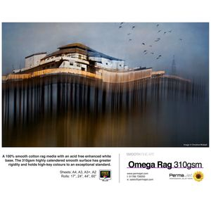 "Permajet Omega 310 Roll Paper 44"" - 15 Meters"