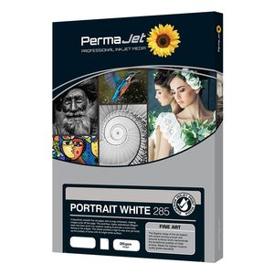 Permajet Portrait White 285 Printing Paper A3+ - 25 Sheets