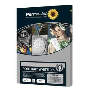 "Permajet Portrait White 285 Roll Paper 24"" - 15 Meters"