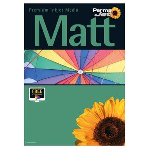 Permajet Double Sided Matt 250 Printing Paper A2 - 50 Sheets
