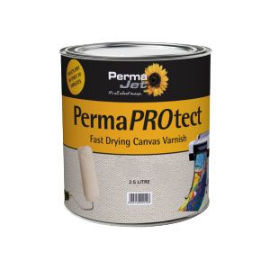 PermaProtect Varnish For Canvas Paper Satin 2.5L