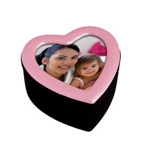 Pink Heart Small Gift Box with Photo Frame