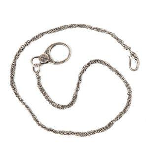 Barber Shop Braid Brass Pocket Chain