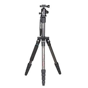 Benro A1192T Flat Traveller 2 Tripod Aluminium Twist Lock with B0 Head - 5 Sections