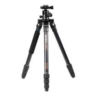Benro A2182T Flat Traveller 2 Tripod Aluminium Twist Lock with B1 Head - 4 Sections