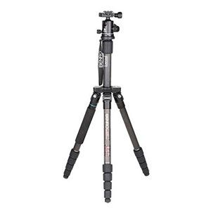 Benro A2192T Flat Traveller 2 Tripod Aluminium Twist Lock with B1 Head - 5 Sections