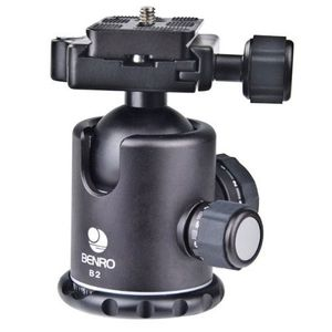 Benro B2 Dual Action Ball Head with PU 60 Quick Release Plate
