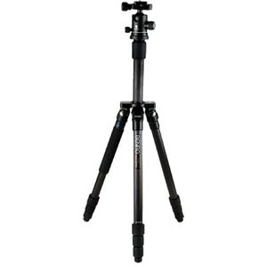 Benro C1192T Flat Traveller 2 Tripod Carbon Twist Lock with B0 Head - 5 Sections