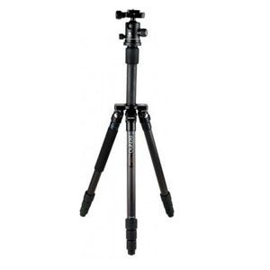 Benro C2192T Flat Traveller 2 Tripod Carbon Twist Lock with B1 Head - 5 Sections