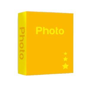 Basic Yellow 7.5x5 Slip In Photo Album - 300 Photos