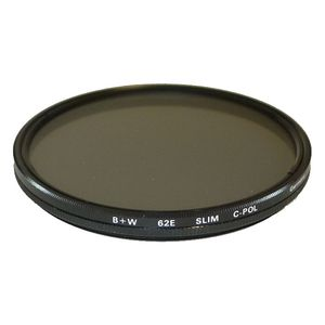 B+W 62mm Circular Polarizer Slim BW Filter